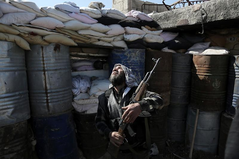 The cessation of hostilities is the first pause in fighting since Syria's civil war broke out in 2011 (AFP Photo/Amer Almohibany)
