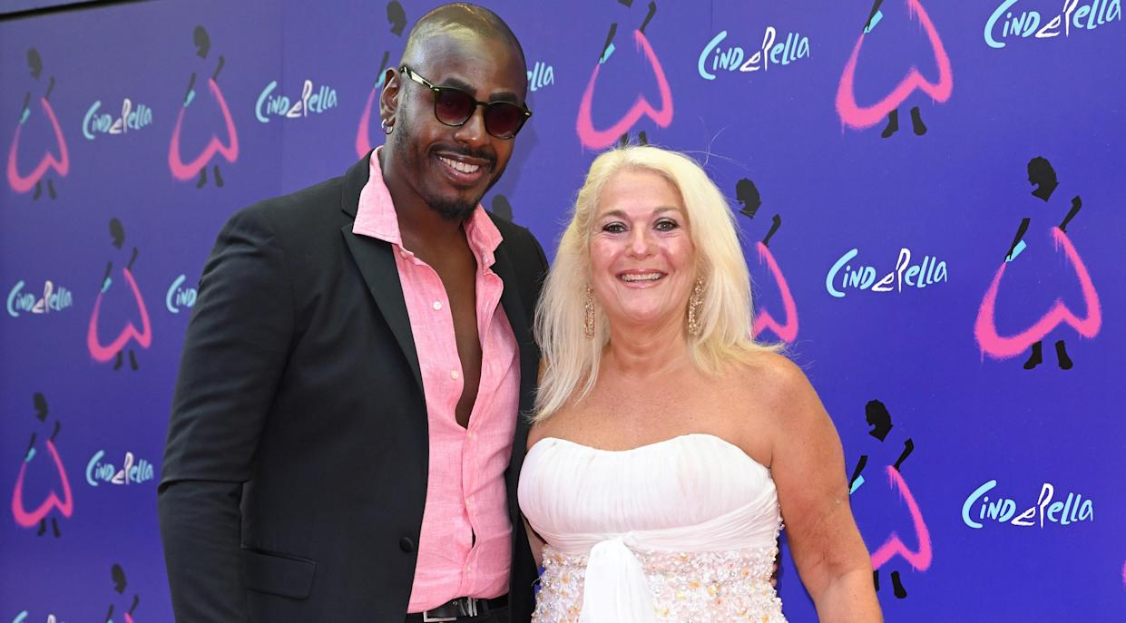 Vanessa Feltz's partner Ben Ofoedu has had to get used to her being very open about their sex life. (Getty Images)
