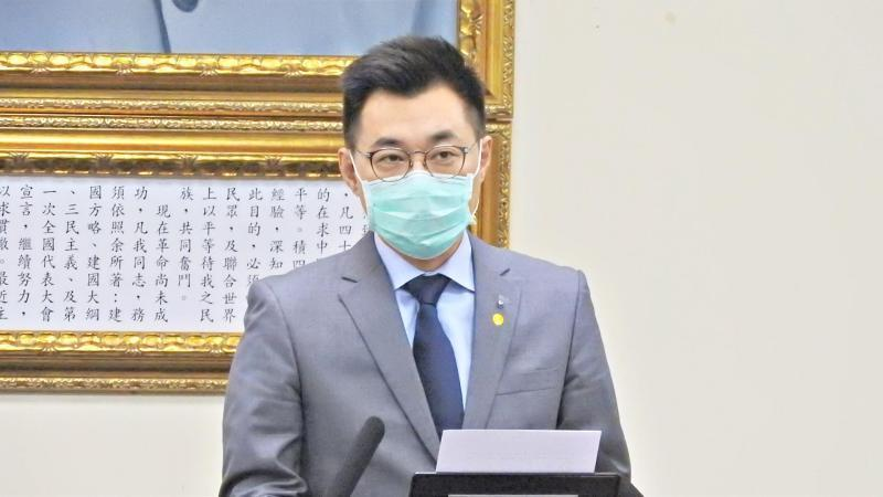 <p>KMT Chairman Johnny Chiang (Photo courtesy of NOWnews)</p>