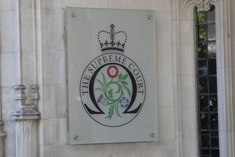 Sign for the Supreme Court