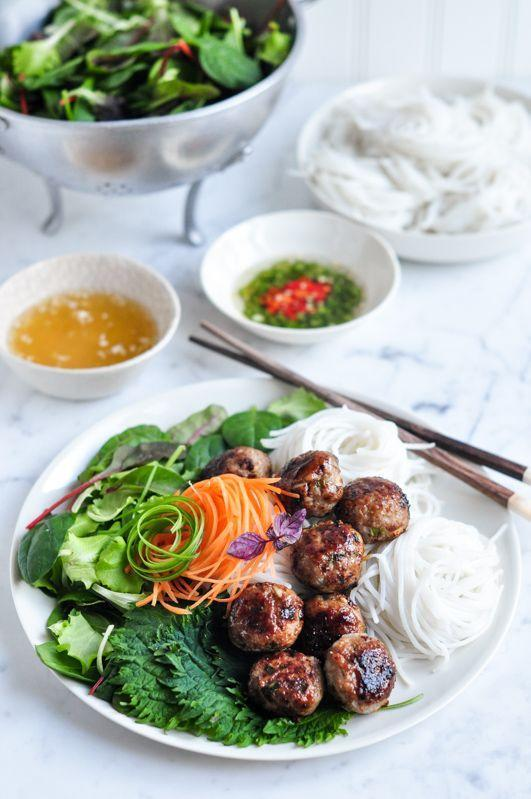 """<p>Skip the takeout and make this Vietnamese dish at home with ingredients you probably already have. </p><p><em><a href=""""http://eatlittlebird.com/bun-cha-vietnamese-pork-meatballs-vermicelli-noodle-salad/"""" rel=""""nofollow noopener"""" target=""""_blank"""" data-ylk=""""slk:Get the recipe from Eat Little Bird »"""" class=""""link rapid-noclick-resp""""><span class=""""redactor-invisible-space"""">Get the recipe from Eat Little Bird »</span> </a></em></p>"""