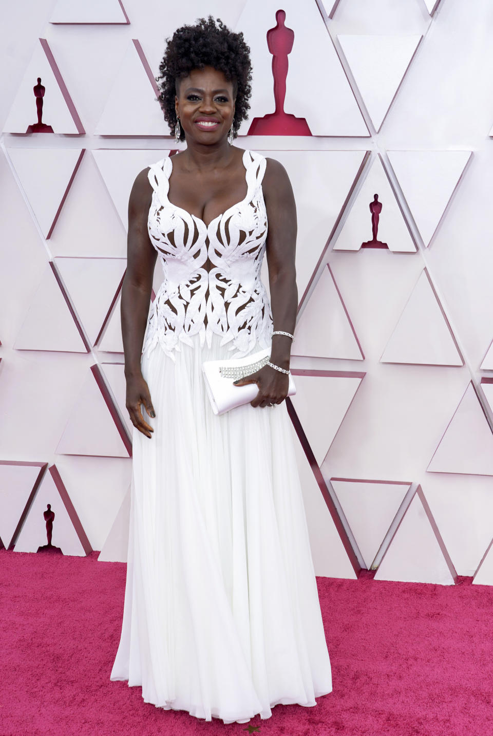 LOS ANGELES, CALIFORNIA – APRIL 25: Viola Davis attends the 93rd Annual Academy Awards at Union Station on April 25, 2021 in Los Angeles, California. (Photo by Chris Pizzello-Pool/Getty Images)