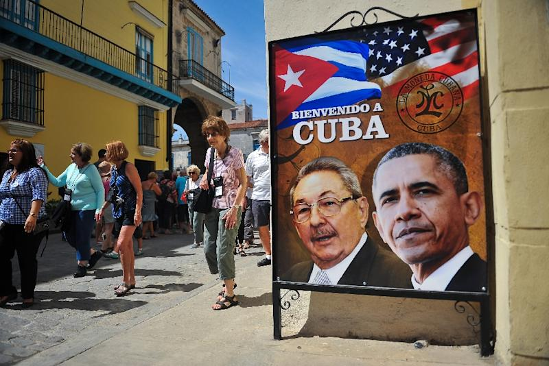 US President Barack Obama's rapprochement with Cuba fueled speculation a decades-old policy allowing Cubans arriving illegally on US soil to stay would be scrapped (AFP Photo/YAMIL LAGE)