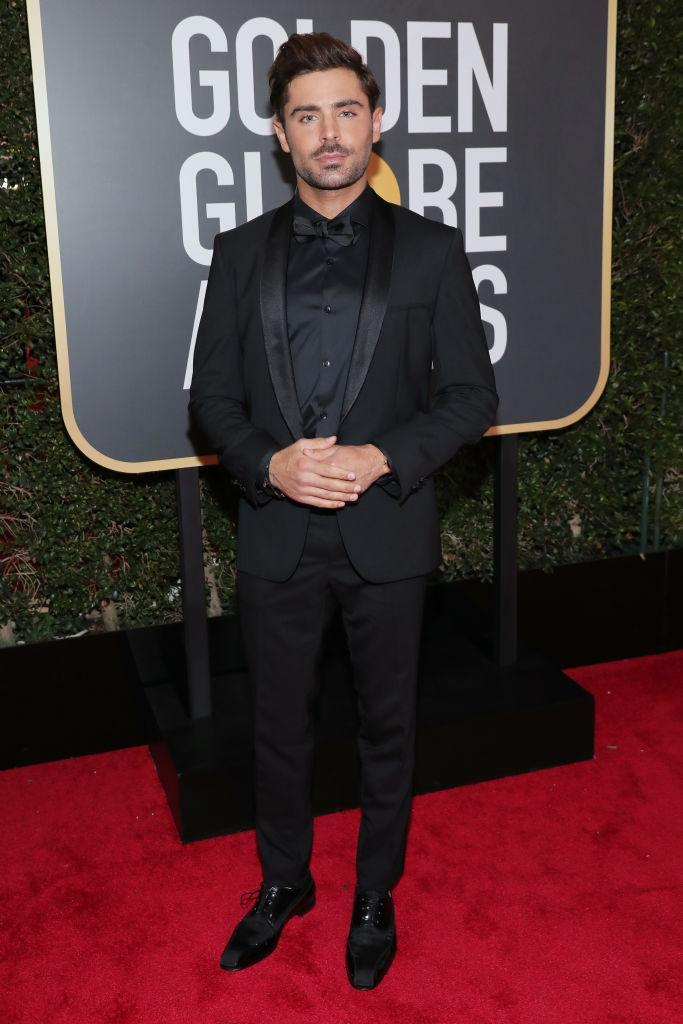 <p>Zac Efron, a presenter, attends the 75th Annual Golden Globe Awards at the Beverly Hilton Hotel in Beverly Hills, Calif., on Jan. 7, 2018. (Photo: Steve Granitz/WireImage) </p>
