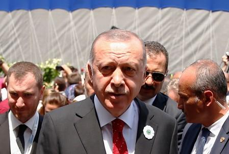 Erdogan says Trump can waive sanctions on Turkey for Russian defence purchase