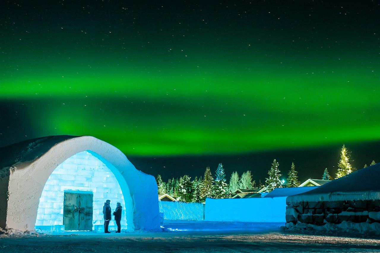 """<p>Every winter, Sweden's iconic <a rel=""""nofollow"""" href=""""https://www.countryliving.com/uk/travel-ideas/staycation-uk/a26819418/uk-breaks/"""">Icehotel</a> opens its frozen doors to visitors looking to experience a true winter wonderland by sleeping in a hotel made out of ice.</p><p>Located in the peaceful village of Jukkasjarvi in Swedish Lapland, this world-famous <a rel=""""nofollow"""" href=""""https://www.countryliving.com/uk/travel-ideas/staycation-uk/a26819418/uk-breaks/"""">ice hotel</a> provides a unique stay for travellers, with each winter opening bringing new designs for its ice suites, along with its classic ice rooms. </p><p>The winter 2018/19 season saw the 29th Icehotel open and some of the suite themes included a sweet shop filled with giant sweets, a vintage VW camper and a bathing ice woman. </p><p>While the suites, kitted out with reindeer furs and cosy sleeping bags to keep you warm throughout the night, are works of art in themselves, there's even more for ice lovers to discover at the hotel made from snow and ice: the ice bar and the ice wedding ceremony hall are both must-sees! </p><p>As it's a place you really need to see to believe – especially when there's a chance of seeing the <a rel=""""nofollow"""" href=""""https://countryliving.tripsmiths.com/tours/scandinavia-northern-lights-carol-kirkwood"""">Northern Lights</a> dancing above you and plenty of activities including husky sledding and snowmobiling to enjoy – you'll want to book a stay at the Icehotel to experience it for yourself. </p><p>Find out how to have the best Icehotel break and receive a free flight upgrade and dinner at the Abisko Mountain Station (a great spot to see the Northern Lights) with <a rel=""""nofollow"""" href=""""https://www.countryliving.com/uk/travel-ideas/staycation-uk/a26819418/uk-breaks/"""">Country Living Holidays</a> and browse photos of the ice hotel below...</p>"""