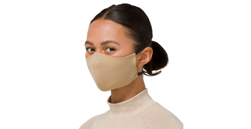 Fans rave about how comfortable these masks are. (Photo: Lululemon)