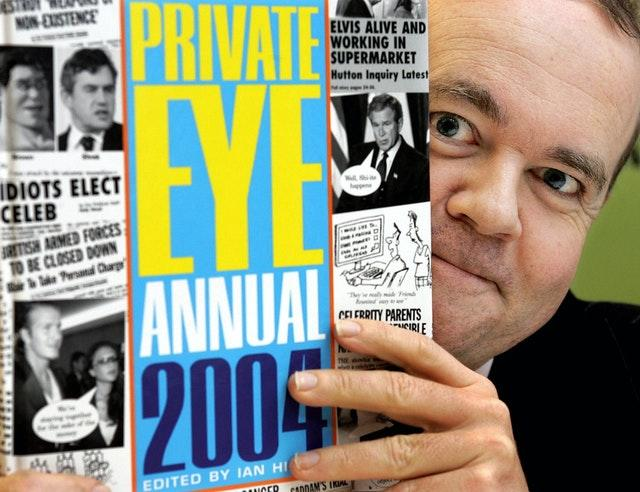 Private Eye book launch