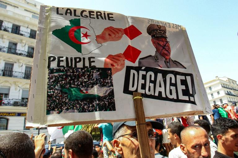 Algerian protesters who once praised Gaid Salah for his intervention to force Bouteflika's resignation went on to despise the general