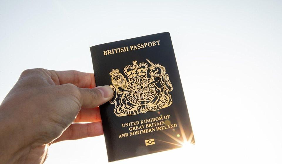 A British National (Overseas) passport. Britain's new scheme gives Hongkongers eligible for the special status a new pathway to residency, and eventually citizenship. Photo: Bloomberg
