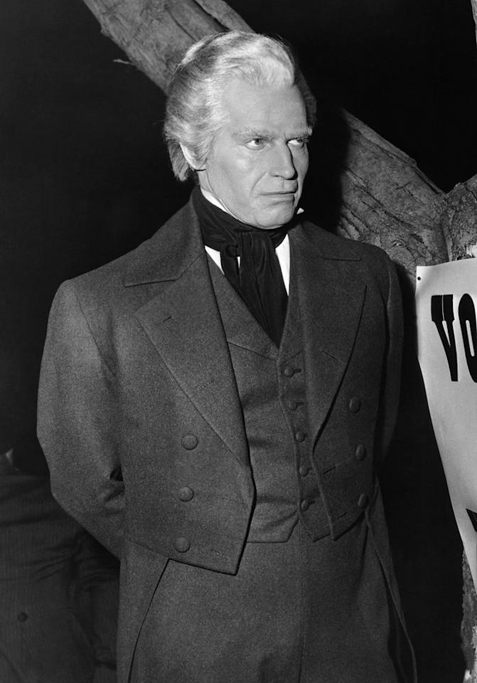 "Charlton Heston as Andrew Jackson in 1953's ""The President's Lady"""