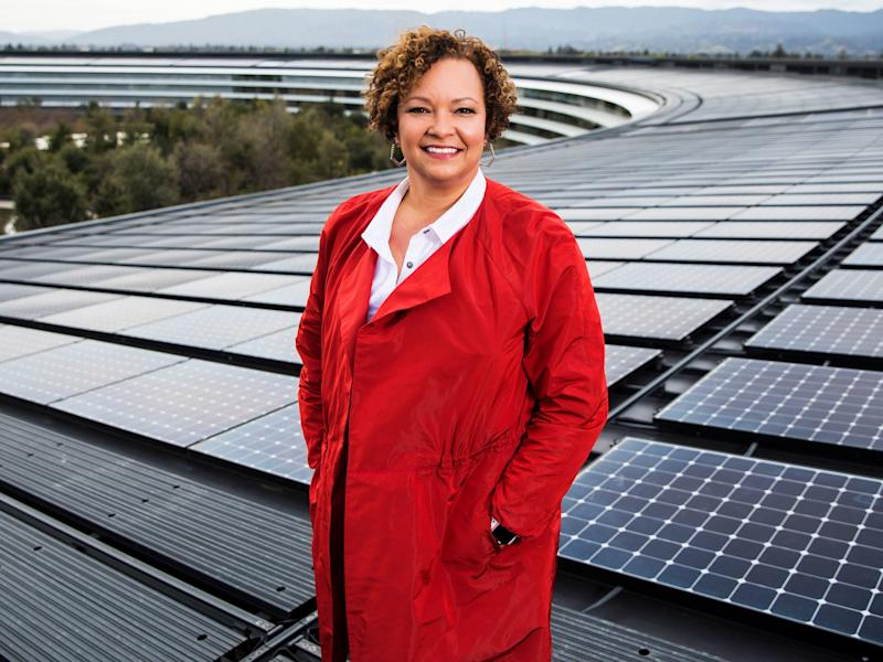 Thanks to Lisa Jackson and her team, Apple's global operations now run on 100 percent renewable energy.
