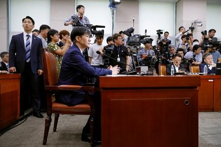 Scandal over justice minister galvanizes South Koreans to protest