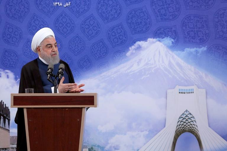 President Hassan Rouhani said Iran's steps back from a 2015 nuclear agreement with major powers were all reversible