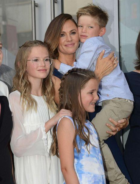 PHOTO: In this Aug. 20, 2018, file photo, Jennifer Garner posez with her children during the ceremony honoring Jennifer Garner with a star on the Hollywood Walk Of Fame in Hollywood, Calif. (Albert L. Ortega/Getty Images, FILE)