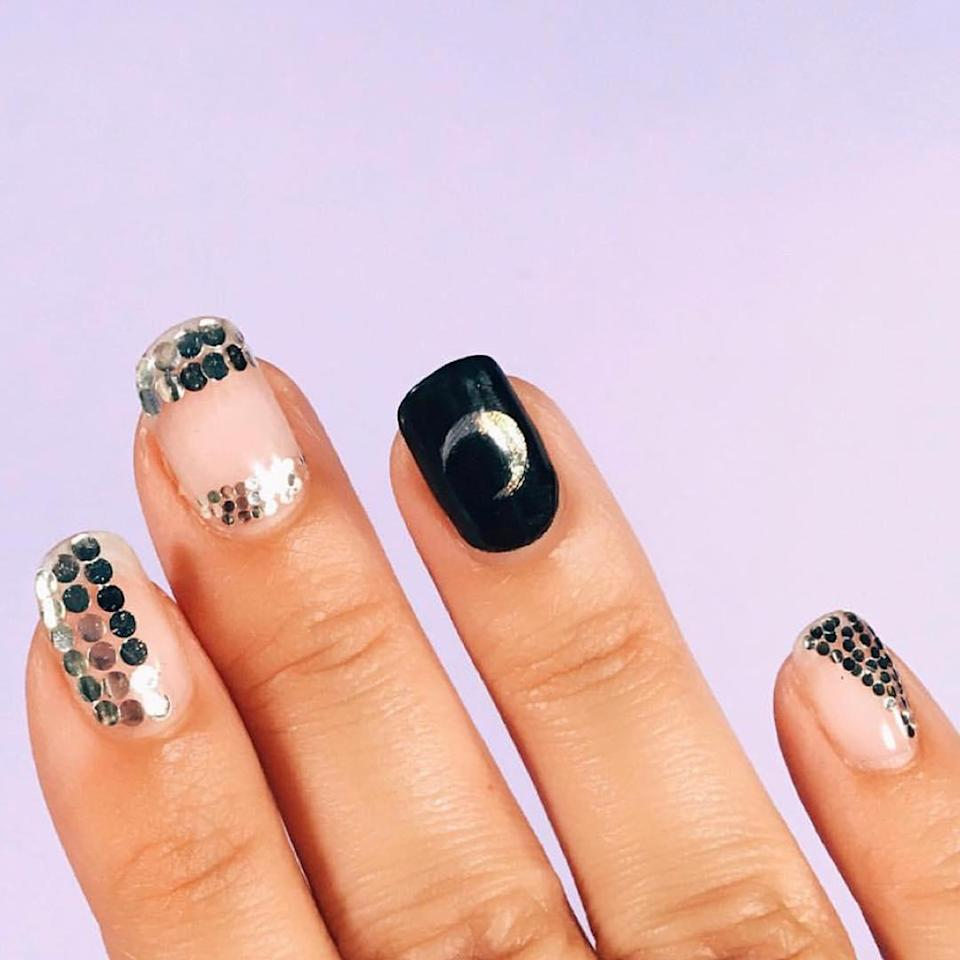 Another take on witch nails.