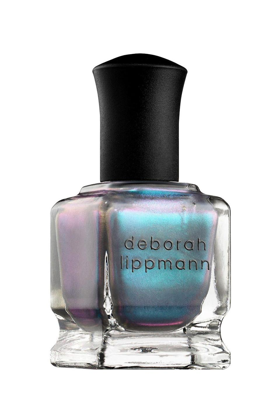 """<p><strong>Deborah Lippmann</strong></p><p>sephora.com</p><p><strong>$20.00</strong></p><p><a href=""""https://go.redirectingat.com?id=74968X1596630&url=https%3A%2F%2Fwww.sephora.com%2Fproduct%2Fgel-lab-pro-nail-polish-P404918&sref=https%3A%2F%2Fwww.seventeen.com%2Fbeauty%2Fnails%2Fg2741%2Fbest-spring-nail-colors%2F"""" rel=""""nofollow noopener"""" target=""""_blank"""" data-ylk=""""slk:SHOP NOW"""" class=""""link rapid-noclick-resp"""">SHOP NOW</a></p><p>If you're looking for something a little ~extra~, this turquoise shimmer is so much fun. Plus, your nails will glisten from afar.</p>"""