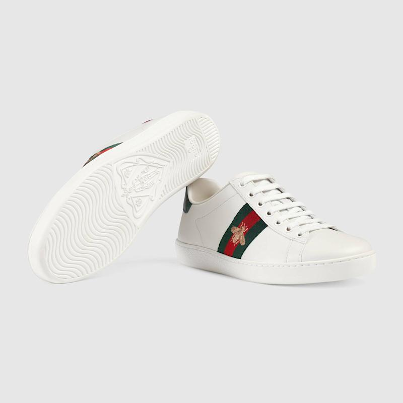 The 'Ace' trainers by Gucci have earned cult status over the past three years [Photo: Gucci]