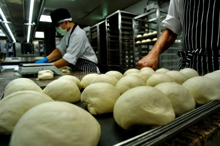 Research group Euromonitor estimates there are some 7,500 cloud kitchens now operating in China and 3,500 in India -- compared to 1,500 for the United States and 750 for Britain (AFP/Sam Yeh)