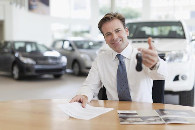 <p>No. 2 least respected: Car salesperson<br>Percentage of positive opinions: 28 per cent<br>(Photo_Concepts / Getty Images) </p>