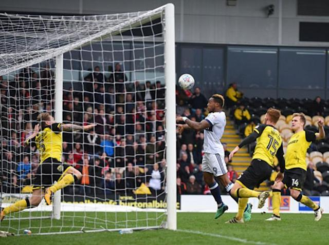 Britt Assombalonga rescues point for Middlesbrough at Burton while Sheffield Wednesday down Sunderland