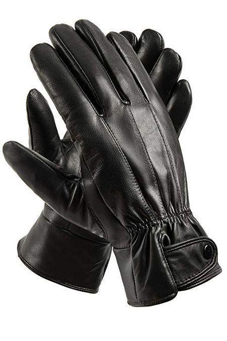 """<p><strong>Anccion</strong></p><p>amazon.com</p><p><a href=""""https://www.amazon.com/d/Mens-Winter-Gloves/Anccion-Genuine-Leather-Driving-Motorcycle/B01IZPVBW2?tag=syn-yahoo-20&ascsubtag=%5Bartid%7C10055.g.4676%5Bsrc%7Cyahoo-us"""" rel=""""nofollow noopener"""" target=""""_blank"""" data-ylk=""""slk:Shop Now"""" class=""""link rapid-noclick-resp"""">Shop Now</a></p><p>These Amazon top-sellers are made from sheepskin leather that will keep his hands cozy even on the coldest days. </p>"""