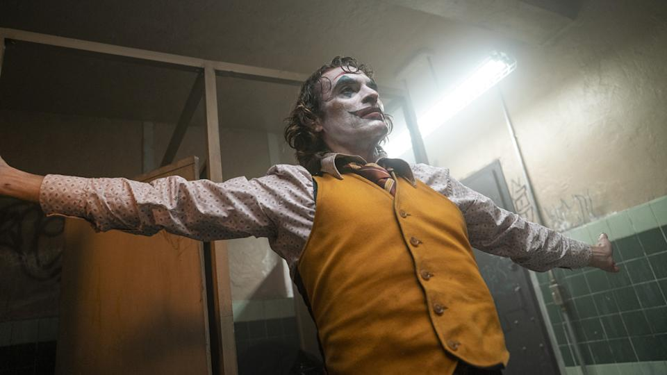 Joaquin Phoenix is considered one of the frontrunners for the Best Actor prize at the Oscars for his performance in 'Joker'.