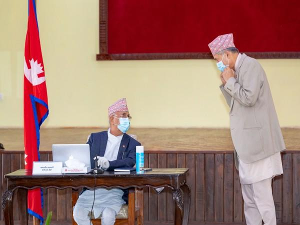 Finance as well as Communication Minister of incumbent government in Nepal, Dr. Yubaraj Khatiwada has resigned. Photo/ANI