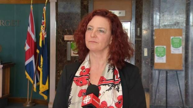 NDP Leader Alison Coffin wants to know where next year's cuts to expenditures will come from.