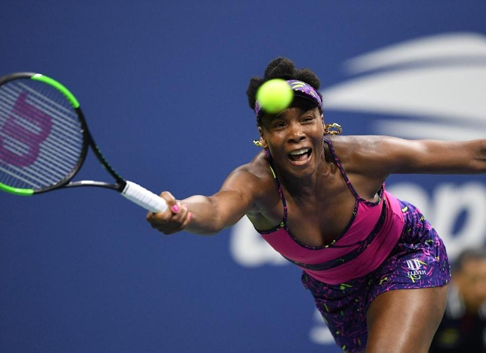 Venus Williams beat her sister Serena in the 2001 US Open final, but since then Serena has gone on to beat her in seven of eight major finals and now owns an 18-12 record (AFP Photo/Don EMMERT)