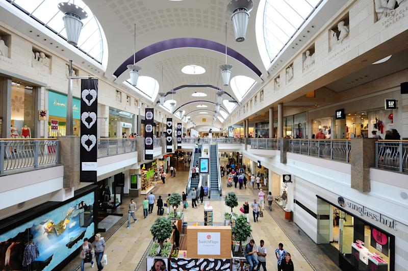 <strong>Bluewater Shopping Centre in Kent is home to hundreds of stores</strong> (PA Archive/PA Images)