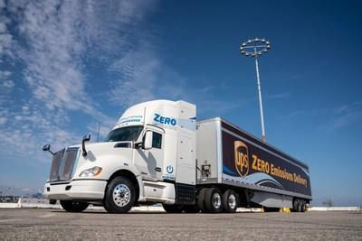 Toyota, Kenworth, the Port of Los Angeles and the California Air Resources Board (CARB) unveil the first of Toyota and Kenworth's jointly developed fuel cell electric heavy-duty trucks (FCET).