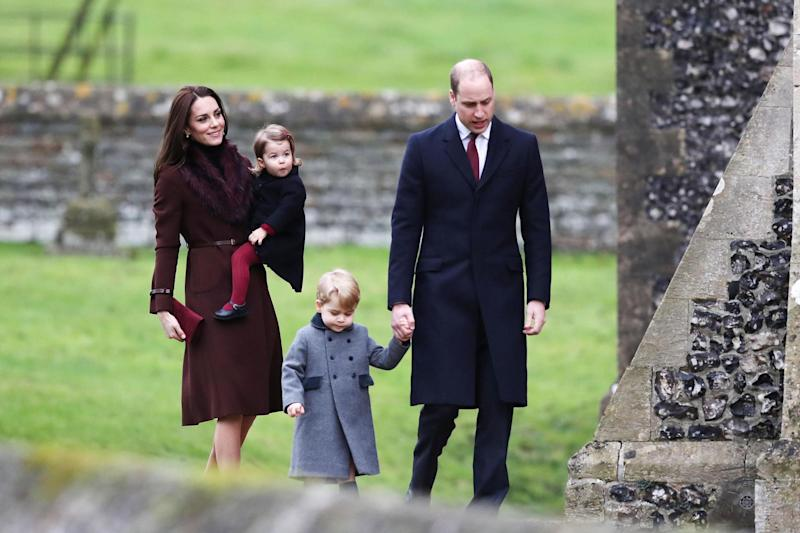 Starring role: Prince George and Princess Charlotte will take part in Pippa Middleton's wedding: PA Wire/PA Images