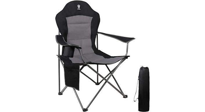 EVER ADVANCED Folding Camping Chair