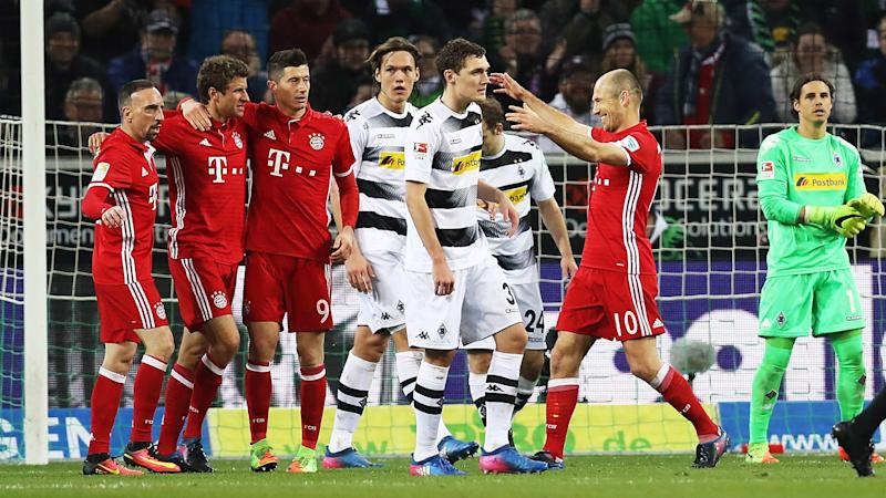 Borussia Monchengladbach 0 Bayern Munich 1: Muller ends goal drought to deliver narrow victory