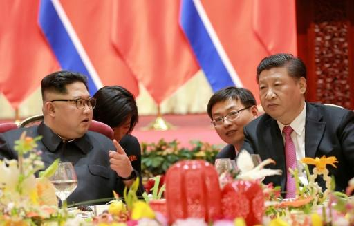 Kim Jong Un met President Xi Jinping this week for the second time in just over a month