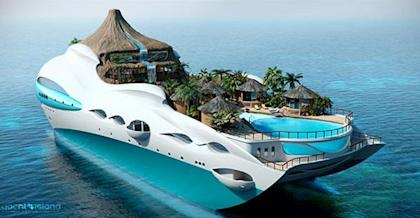 Shaq's Yacht Is Literally A Floating Mansion