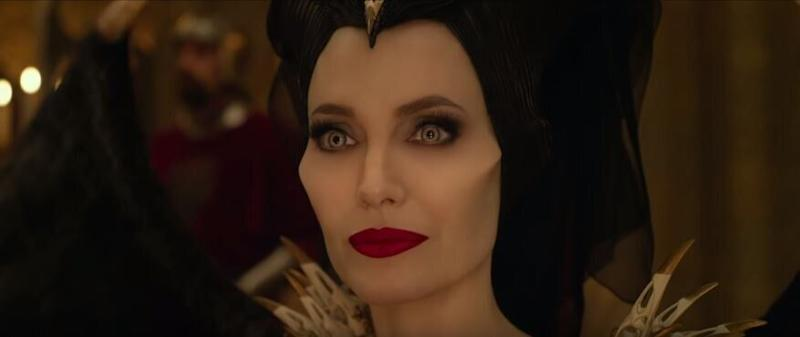 Jolie reprises her role five years after the original movie was released (Credit: DIsney)