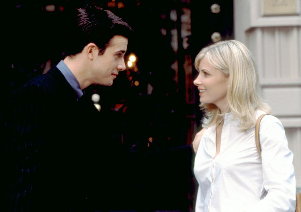 """<a href=""""http://movies.yahoo.com/movie/1800366569/info"""">Head Over Heels</a> (2001): It's a Go-Go's song! It's a Freddie Prinze Jr. movie! You kids are both right. It's also a shameless rip-off of """"Rear Window' (now there was a movie with a strong, succinct title), with Monica Potter's character thinking she sees Prinze's character kill someone while spying on him through her apartment window. She and her roommates -- four gorgeous models -- play amateur detectives to get to the bottom of the suspected crime. Madcap hilarity ensues, including plenty of scatological humor and pratfalls. Hey, maybe the title was pretty precise after all -- but for all the wrong reasons."""