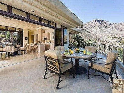 From almost all angles, there are panoramic views of the surrounding hills.  Source: Homgroup/Sotheby's