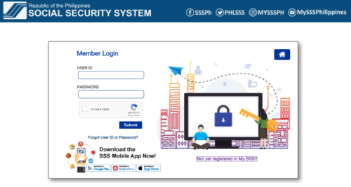 sss online registration - my.sss account