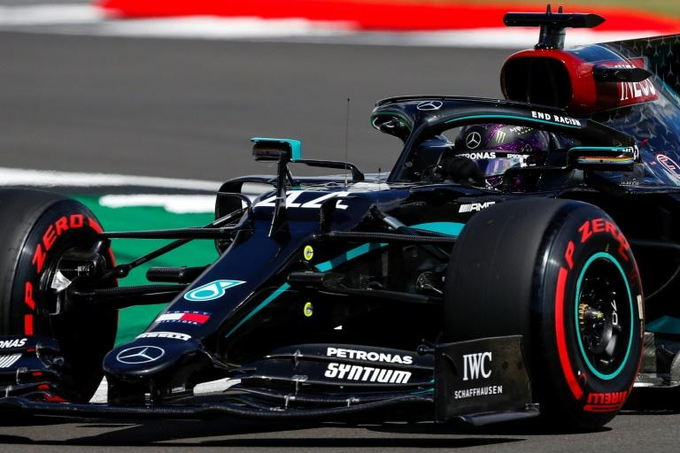 Lewis Hamilton powered to a 91st career pole position at Silverstone