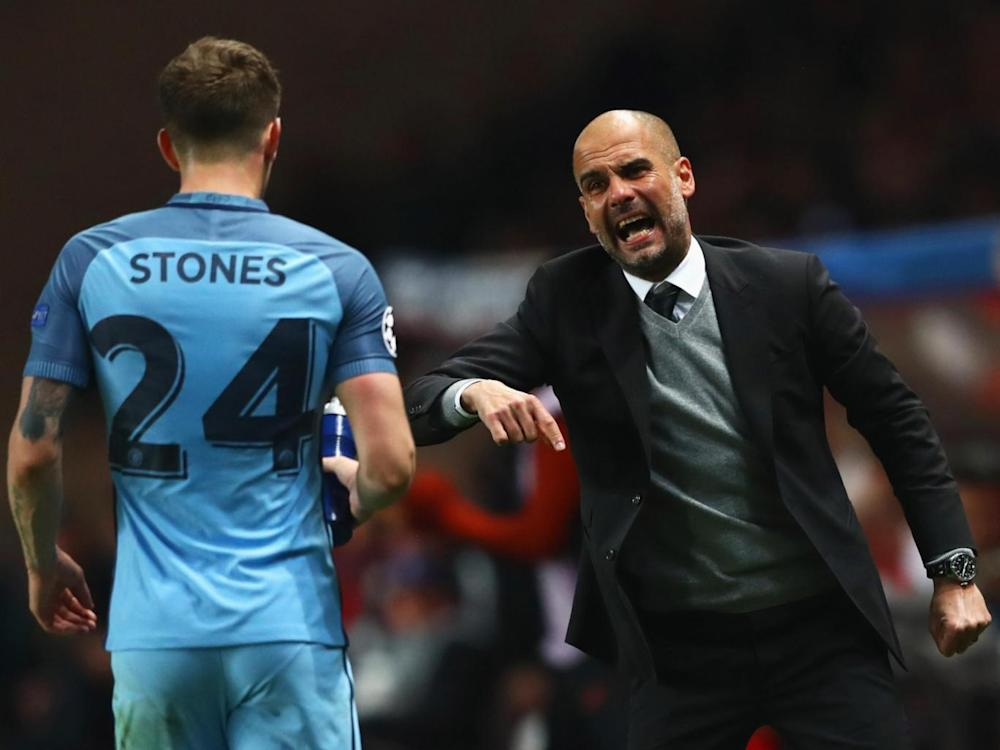 Manchester City's manager felt his players lacked desire (Getty)
