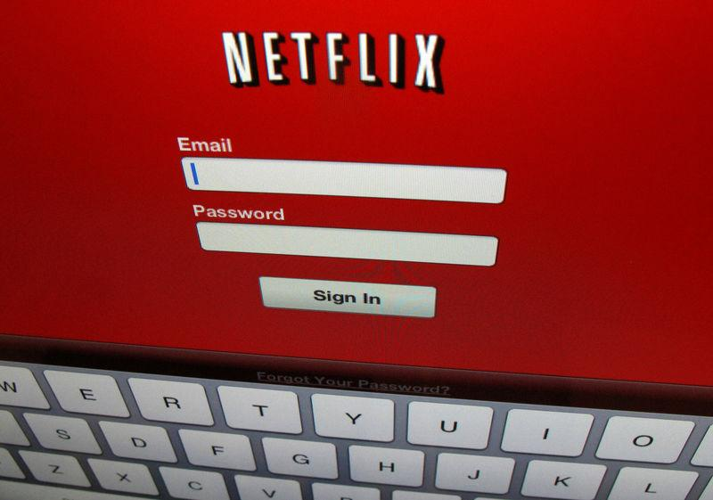 FILE PHOTO - The Netflix sign on screen on an ipad in Encinitas