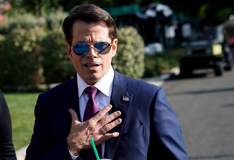 Anthony Scaramucci graduated from Harvard Law School in 1989. (Joshua Roberts/Reuters)