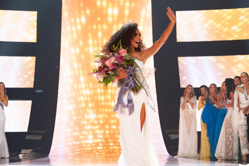North Carolina lawyer Cheslie Kryst takes the Miss USA crown