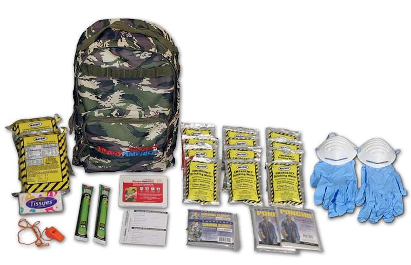 Ready America 2-Person 3-Day Emergency Kit Special Edition (Photo: Home Depot)