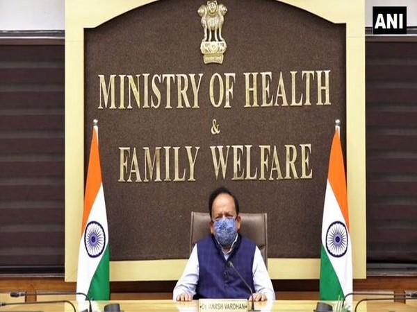 Union Minister Harsh Vardhan speaking at Ministerial Meeting on Universal Health Coverage on Thursday.