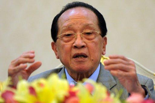 Cambodian Foreign Minister Hor Namhong