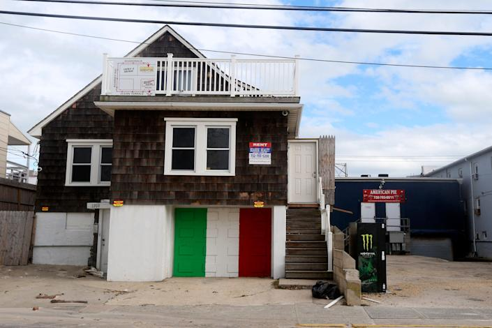 """On Wednesday, New Jersey Gov. Phil Murphy said that the YouTube stars who rented out the """"Jersey Shore"""" house on Sept. 14 should """"be taken to task"""" after huge crowd showed up, many flouting COVID-19 social distancing rules."""